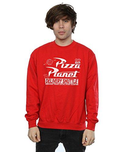 Disney Hombre Toy Story Pizza Planet Logo Camisa de Entrenamiento XXX-Large Rojo