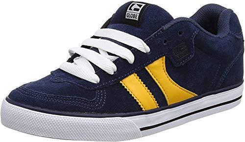 Globe Herren Encore-2 Skateboardschuhe, Mehrfarbig (Navy/yellow), 39 EU (7 US)