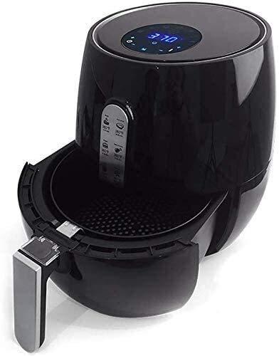 RVTYR 2.6L de la freidora eléctrica, automática freidora sin Aceite Antiadherente Airfryer con Mango de Control Anti-Quemaduras de Temperatura Ajustable de Cocina Air Fryer
