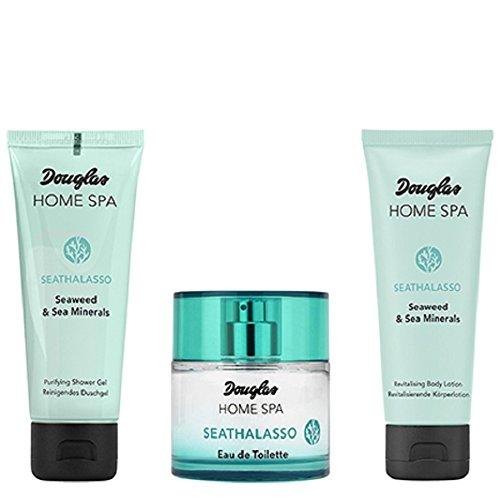 Douglas Douglas - home spa - seathalasso - set - duftset - eau de toilette edt 50ml shower gel 75ml body lotion 75ml