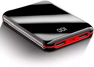 Slim Mini Power Bank 10000mAh Pocket Size External Battery Pack Portable Charger (red, 10000MAH) by GiGi Gear