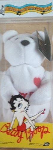 mejor calidad Betty Boop Beanie Baby in Plastic box by by by  Betty Bop - Beanie Baby Bear Set of 3 negro,rojo,blanco   nueva gama alta exclusiva