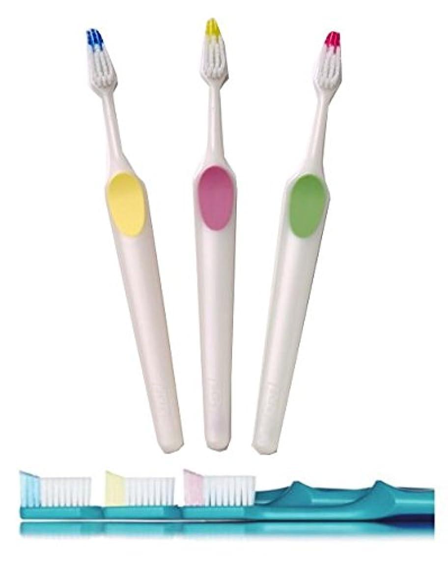 ミルク残高緩むクロスフィールド TePe テペ ノバ(Nova) 歯ブラシ 1本 (ソフト)