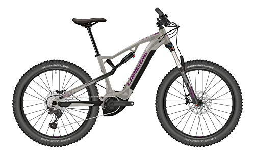Lapierre Overvolt TR 3.5 W Yamaha Woman Fullsuspension Elektro Mountain Bike 2021 (L/43cm, Grau)