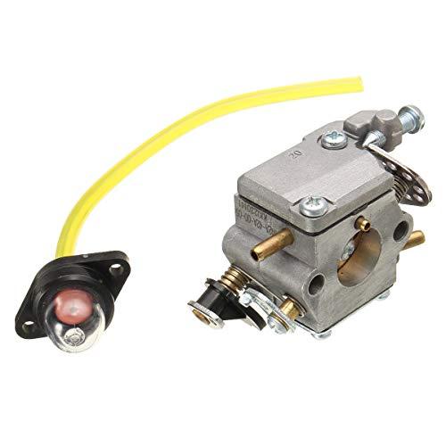 XIANGL Piezas de Repuesto del carburador Carburador para Homelite 42cc 38cc 35cc Sierra de Cadena # 309362001 309362003 Piezas de Repuesto