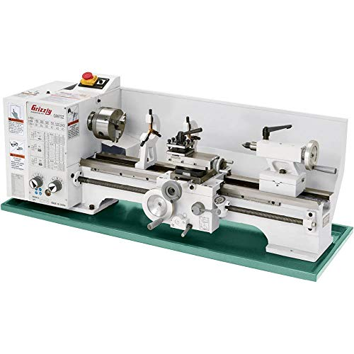 Grizzly G9972Z Bench Lathe with Gearbox, 11 x 26-Inch