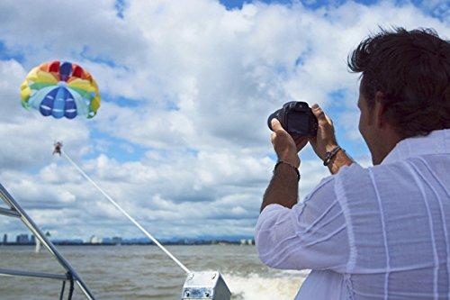 Sony Digitalkamera DSC-HX350 Bridge-Kamera mit 50-fach optischem Zoom (Exmor R Sensor, Carl Zeiss Vario-Sonnar Weitwinkelobjektiv 24-1200 mm, Full HD Video, 7,5 cm (3 Zoll) Display) schwarz