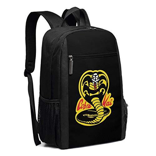 Mochila Escolar, Travel Hiking Cobra Kai Backpacks Waterproof Big Student College High School Laptop Shoulder Bag Outdoor Backpacks For Men Women Adults