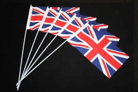 Everflag Papierfähnchen: Großbritannien GB 50er Packung