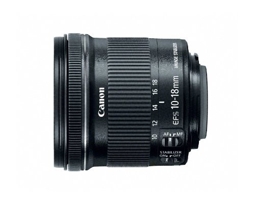 Our #5 Pick is the Canon EF-S 10-18mm f/4.5-5.6 IS STM Lens