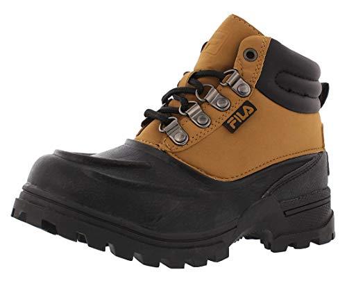 Fila Kids' Weathertec Western Boot, Wheat/Black/Black, 11 M US Little Kid