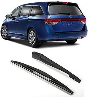OUYAWEI Car Rear Windshield Wiper Arm + Wiper Strip for Honda Odyssey Auto Accessories