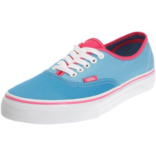 Vans - Zapatillas de Lona para Mujer, Color Azul, Talla 35.5 EU / 3 UK