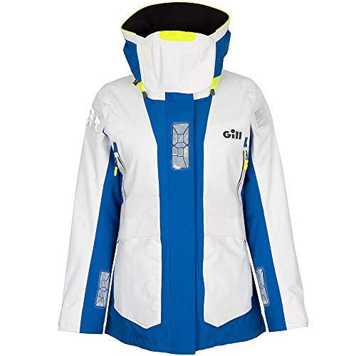 Gill OS2 Womens Offshore Sailing Yacht Coat Jacket Weiß - Thermisch Warm Wärme Schichten Leichtes Atmungsaktiv