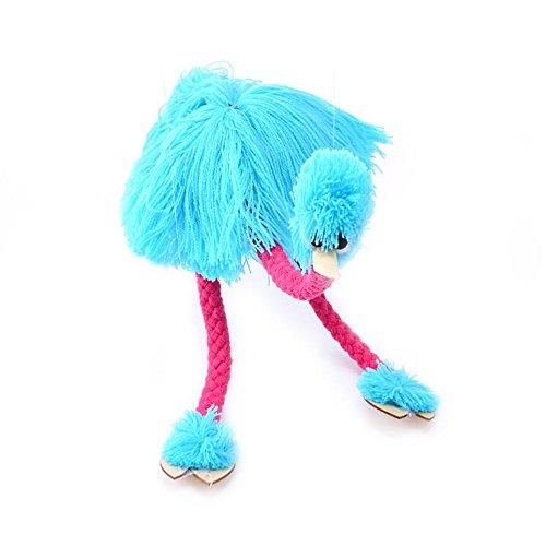HOCHE Toy-Marionette Ostrich (Blue)
