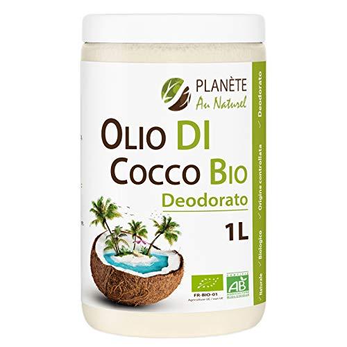 Olio di Cocco Bio Deodorato - 1 L