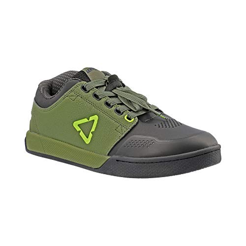 Leatt 3.0 Flat Adult MTB Cycling Shoes - Cactus / 10.5