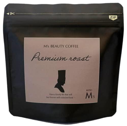M's Beauty Coffee 美活コーヒー 粉 80g (Premium Roast)