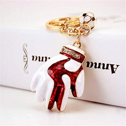 SHEANAON Torwarthandschuhe Schlüsselanhänger Mode Schlüsselanhänger Ring Schlüsselringe Auto Anhänger Schlüsselhalter Schmuckstück