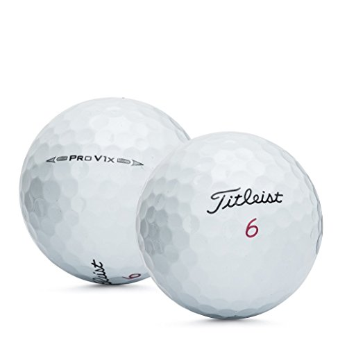Titleist Pro V1X 2016 Recycled Golf Balls (Pack 24)