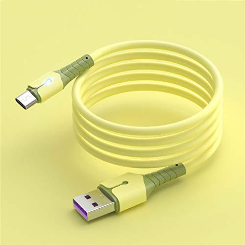 GXFCQKDSZX Cable de Carga rápida Cable Micro USB Tipo C Cable de Carga rápida Cables de teléfono móvil