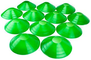 Crown Sporting Goods Set of 12 Soft Plastic Field Disc Cones