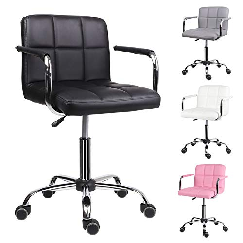 EUCO Desk chair,Office Chair Adjustable Height Comfy Computer...