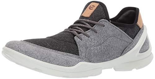 ECCO Damen Biom Street Sneaker, Grau (Titanium/Black 50347), 42 EU