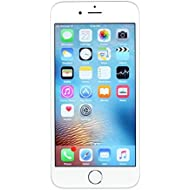 Apple iPhone 6S, 128GB, Silver - for AT&T/T-Mobile (Renewed)