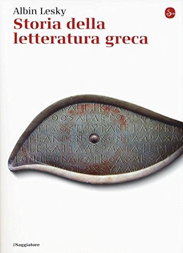 Storia della letteratura greca