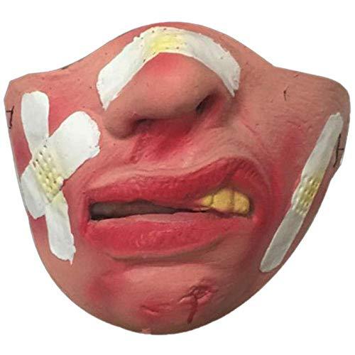 Gulunmun Maulkörbe Für Hunde Halloween Hundemaske Stil Durable Maske Haustier Maulkorb Streich Scherz Latex Hund Lustiges Spielzeug Halbe Gesichtsmaske Haustier Zubehör @ A10_China