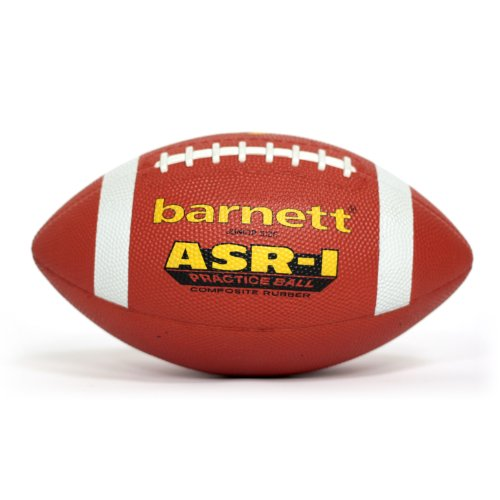 BARNETT ASR-1 American Football Ball Training, Vinyl, Gr Senior, braun