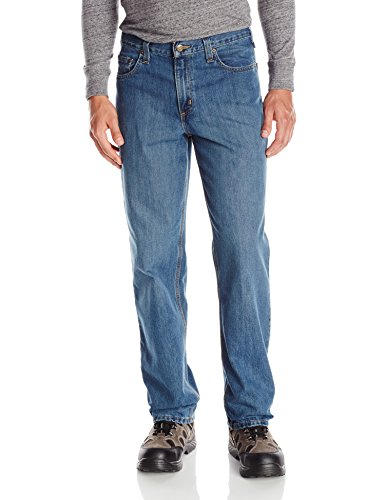 Carhartt Men's Relaxed Fit Holter Jean, Frontier, 40W X 30L