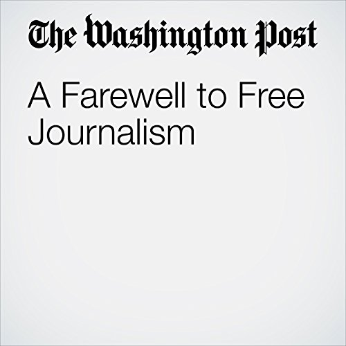 A Farewell to Free Journalism copertina