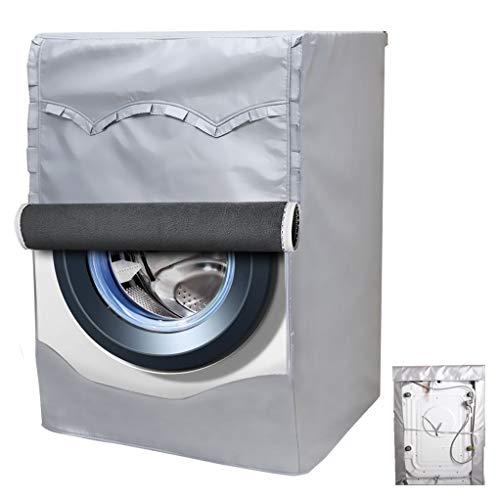 Mr. You Lavatrice Copertura per Esterni Extra più Denso Tessuto Impermeabile Protezione Solare Termico Anti-ultravioletti 60x53x85cm
