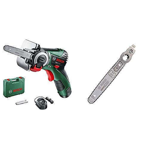 Bosch EasyCut 12 Cordless Nano Blade Saw with 12 V Lithium-Ion Battery & 2609256D86 nanoBLADE Wood Speed 65 Blade
