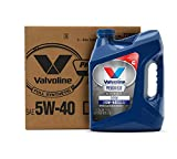 Valvoline 774038 Premium Blue Extreme SAE 5W-40 Synthetic Engine Oil 1 GA, Case of 3