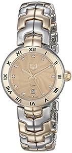 TAG Heuer Women's WAT1451.BB0955 Link Analog Display Swiss Quartz Silver Watch