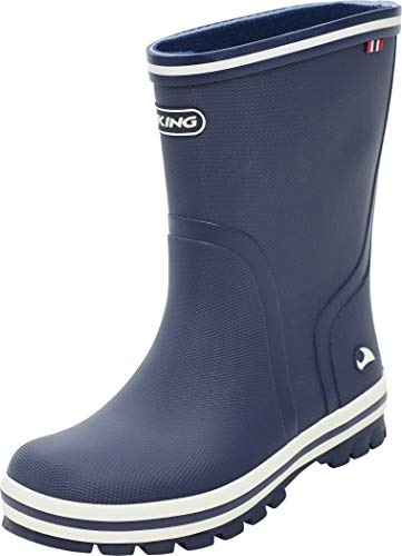 viking Unisex-Kinder Splash II Gummistiefel, Navy, 27 EU
