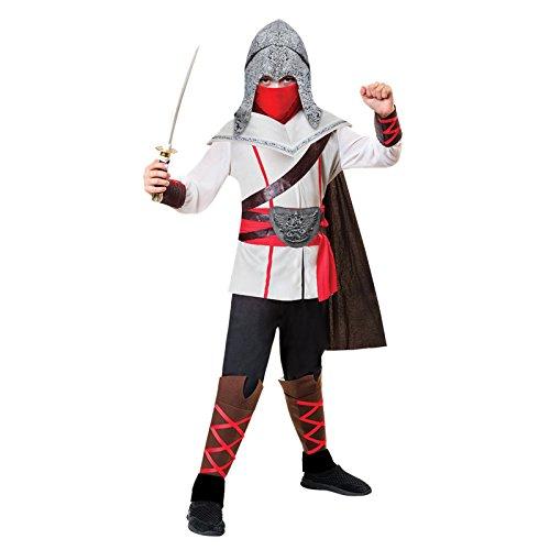amscan Kindermaat Assassins Creed Style Ninja-kostuum