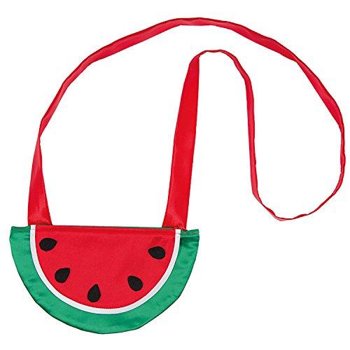 Rubie's 6190629-STD Melonen Handtasche Einheitsgröße Damen Tasche Früchtchen Karneval Fasching, Multi-Colored