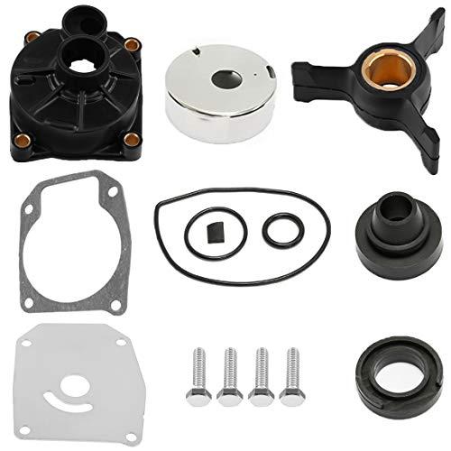 Outboard Water Pump Impeller Kit,for Johnson Evinrude 40HP 50HP Water Pump Repair Kit Outboard Impeller Replacement Parts with Housing Sierra 18-3454 438592 433548 433549 777805, by NAKAO