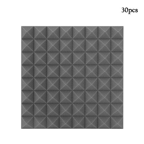 Fantastic Prices! QIDI Pyramid Sound-absorbing cotton Self Adhesive Acoustic Foam Insulation, Suitab...
