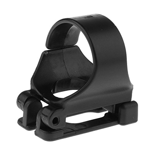 SM SunniMix Retenedor de Sujetador Clip de Snorkel de Plástico Universal para Buceo y Esnórquel (25 mm de Diámetro)