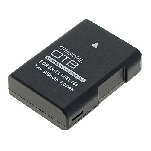 OTB Akku-Net - Batería para Nikon EN-EL14a (Ion de Litio, 100 mAh, 1