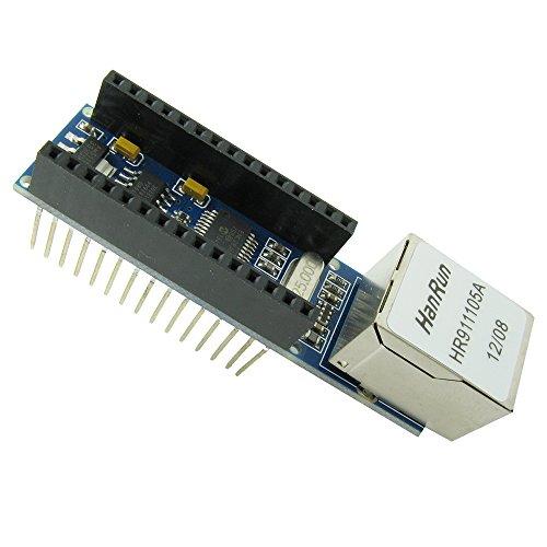 ENC28J60 Ethernet Shield per Nano 3.0 Modulo web server RJ45