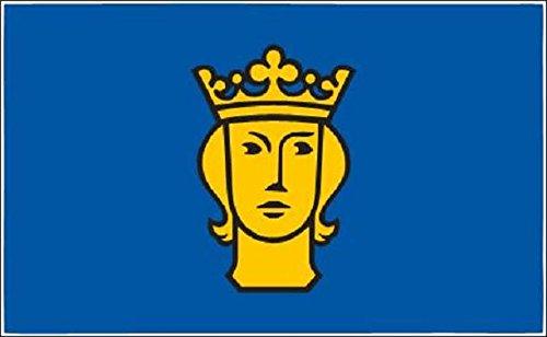 U24 Fahne Flagge Stockholm 90 x 150 cm