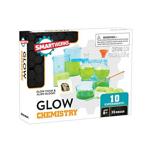 SmartLab Toys 322415 Smartworks Glow Chemistry, Multicolor, One Size