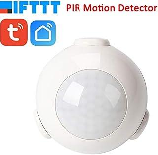 Sensor de movimiento WiFi, sensor de movimiento PIR, sensor de movimiento inteligente para interior y exterior (alarma domótica), no requiere Hub ni servicio de suscripción