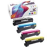 AZ Supplies Compatible Toner Cartridge Replacement for Kyocera Mita TK-562 TK-562K TK-562C TK-562M TK-562Y FS-C5300DN FS-C5350DN (Black, Cyan, Magenta, Yellow - 4 Packs)
